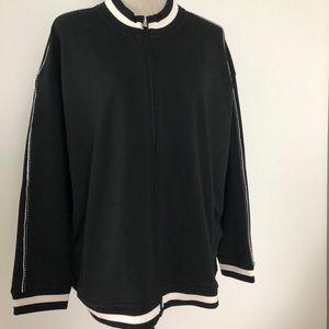 Lauren Ralph Lauren activewear jacket black NWT
